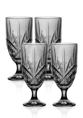 Godinger  Dublin Smoke Ice Tea Glasses Set of 4