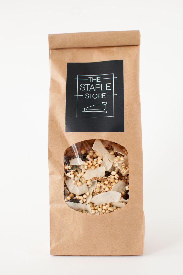 The Staple Store's Gluten Free Muesli - Packaging Branding Identity