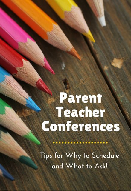 The Educators' Spin On It: Tips for Parent-Teacher Conferences