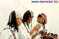 Les qaraqebs - Instrument de musique marocaine