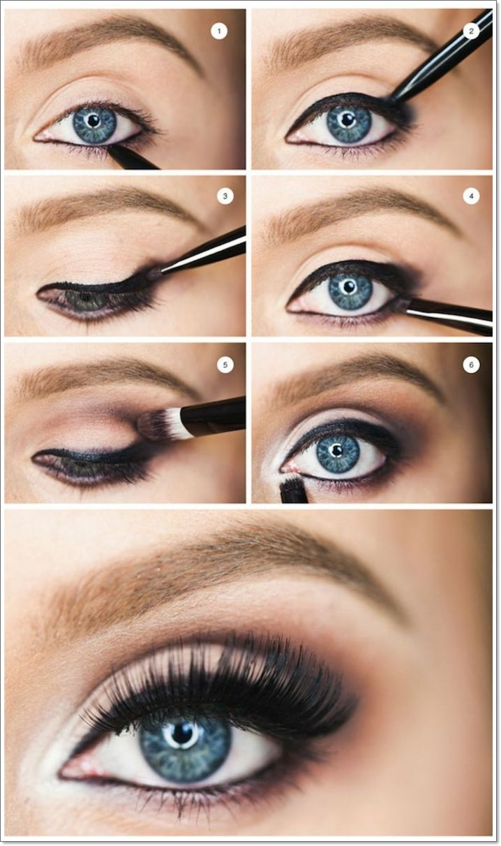 Maquillage yeux noir simple - Maquillage naturel yeux ...