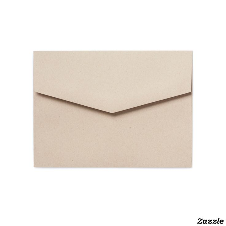 """Style: 5x7 Colored Envelopes These beautifully constructed colored envelopes are the perfect complement to your event's invitation. Sold in packets of 25. Fitted for Zazzle's 5"""" x 7"""" invitation."""