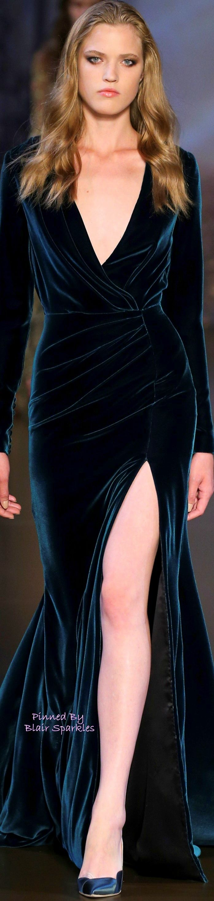 FALL COUTURE 2015 RALPH & RUSSO ♕♚εїз   BLAIR SPARKLES  