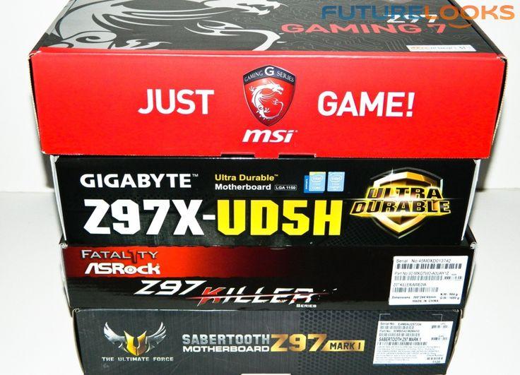 Intel Z97 Motherboard Round Up - GIGABYTE GA-Z97X-UD5H, MSI Z97 Gaming 7, ASUS Z97 Sabertooth MKI, ASRock Fatal1ty Z97 Killer - Futurelooks