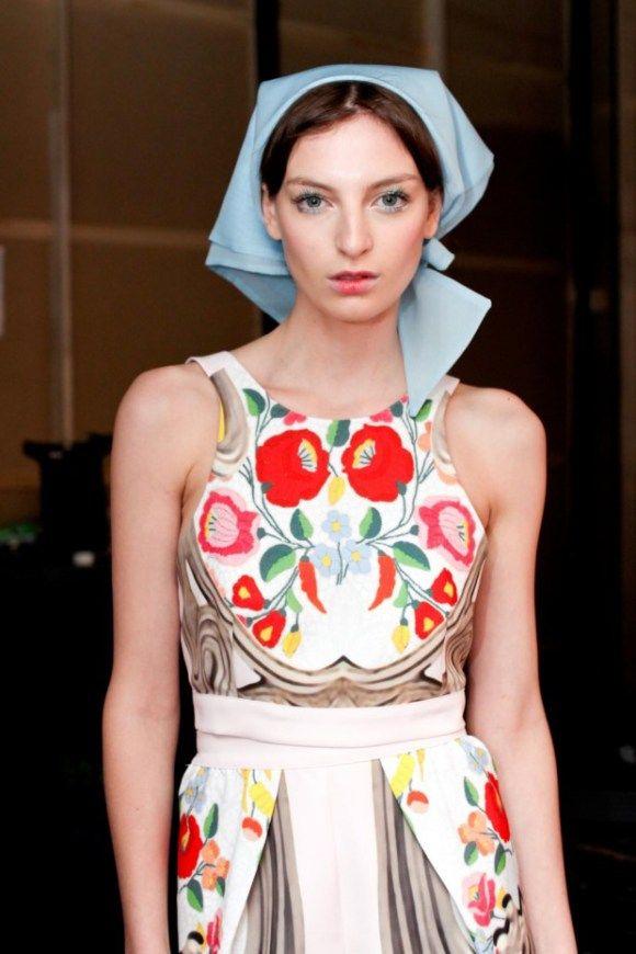 Hungarian cuteness, amazing dress.