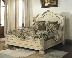 Ashley Furniture Ortanique Queen Sleigh Bed B707