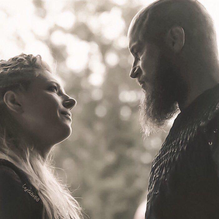 "688 Likes, 4 Comments - Leah~Laylalee68 (@ailla68) on Instagram: ""Ragnar & Lagertha ❤️ #ragnar #kingragnar ##lagertha #vikings #travisfimmel #katherynwinnick"""