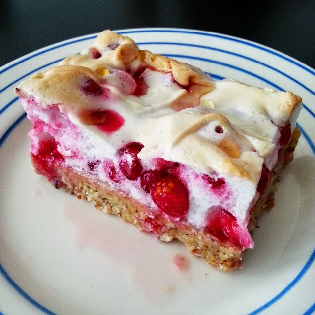 My Pink Runningshoes: Lowcarb Johannisbeer-Kuchen