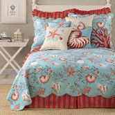 Found it at Wayfair - Sealife Quilt Collection