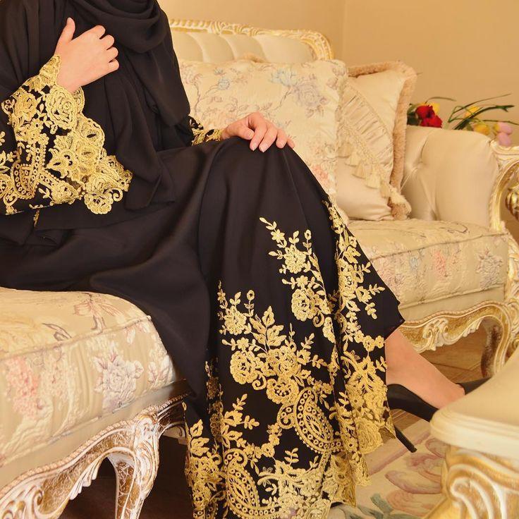 The gold collection  #EsteeAudra #Abaya