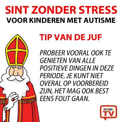 Hoe vier je Sinterklaas met een kind met autisme? Tip van de Juf!