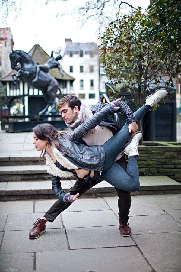 London dancers among us © www.sandramarusic.ch