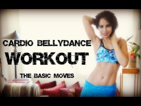 Cardio belly dance workout: the hip hop mix workout for beginners - with music - YouTube