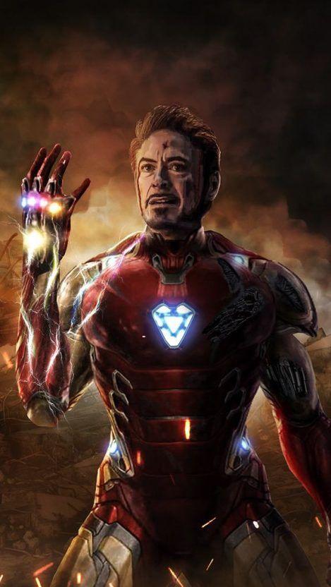 iPhone Wallpaper – Iron Man