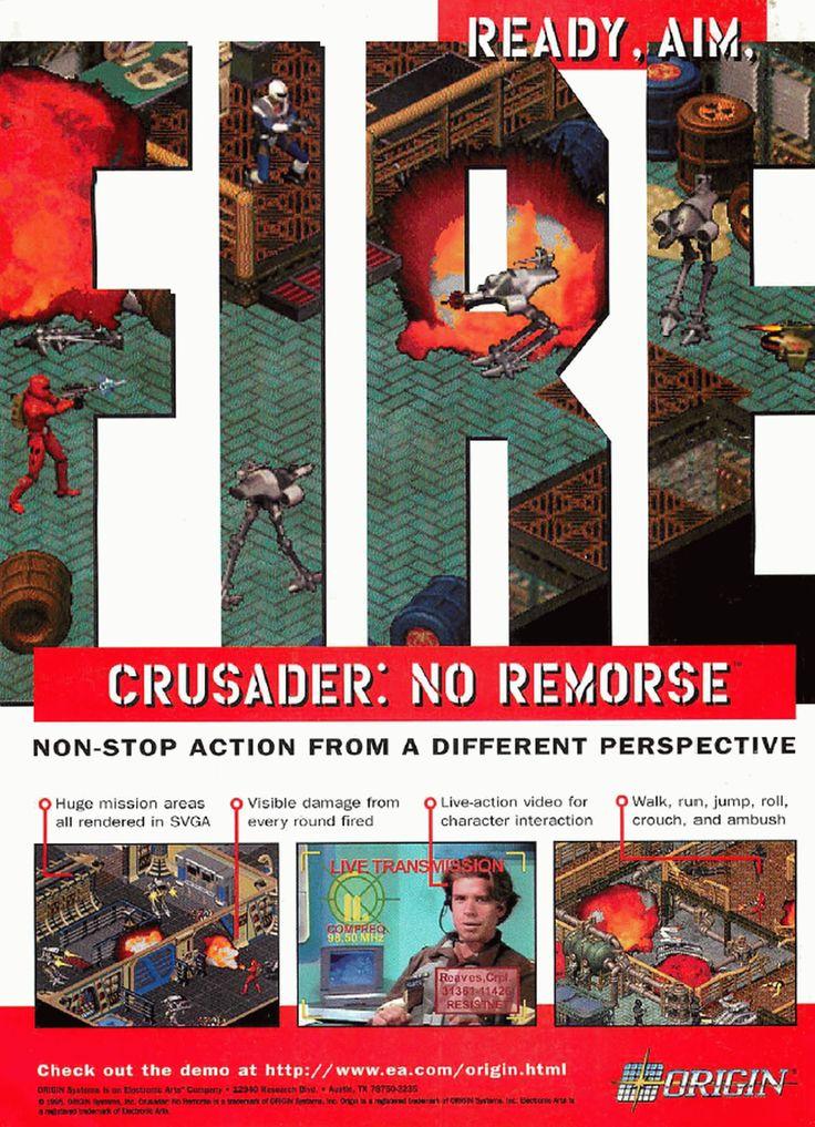 Crusader: No Remorse | print ad (1995)
