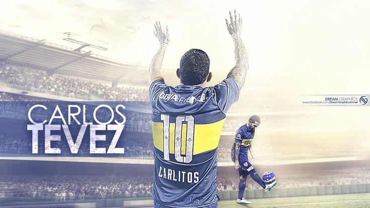 Carlos Tevez Boca Juniors Wallpaper