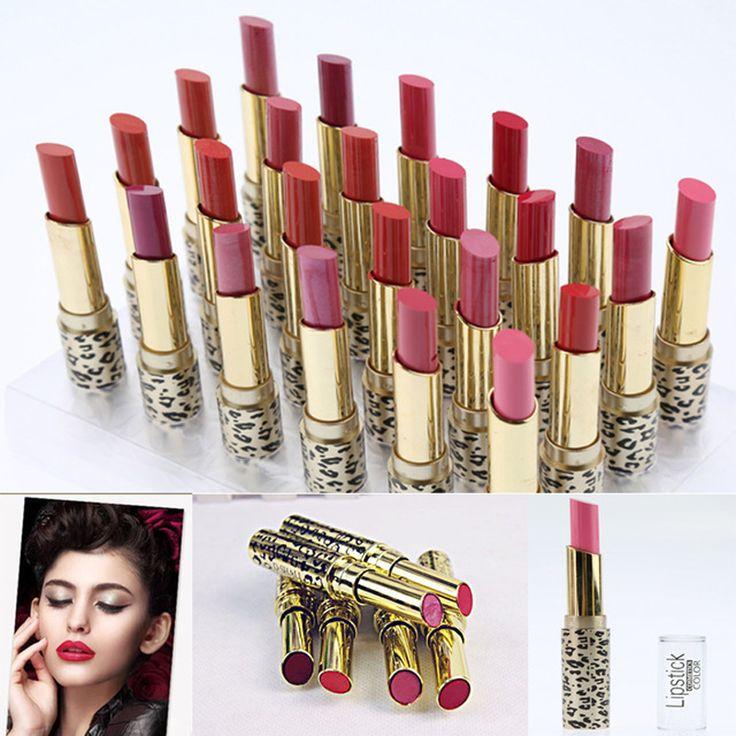 Hot profesional líquido lápiz labial mate larga paleta de barra de labios de color compañero canal tinte brillo de labios lápiz labial marca de maquillaje stick