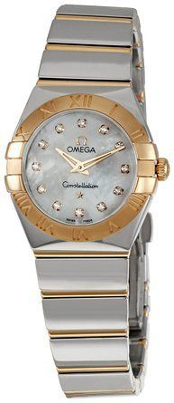 Omega Womens 12320246055003 Constellation MotherOfPearl Dial Watch * You can fin...