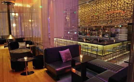 W Hotel Lounge A Great Spot For Afterwork Drinks Or To Begin