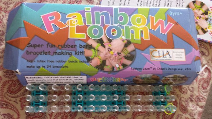 Rainbow Loom  Fun and easy rubber band bracelets