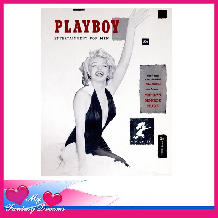 PLAYBOY - RARE FIRST RE - ISSUE DECEMBER 1953 AUTHORIZED MARILYN MONROE HEFNER