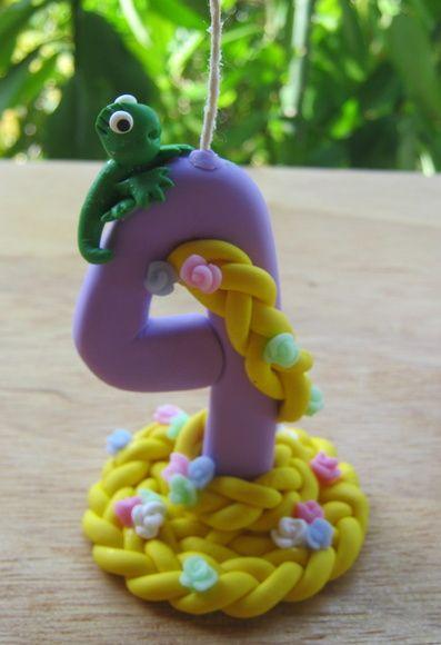 Vela da Rapunzel
