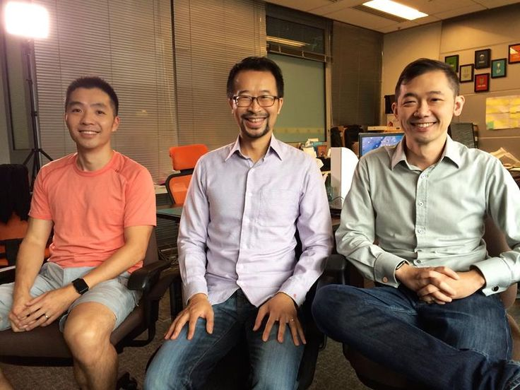 Joy Aether founders Stanley Lam, Ricky Lui and Leo Lau