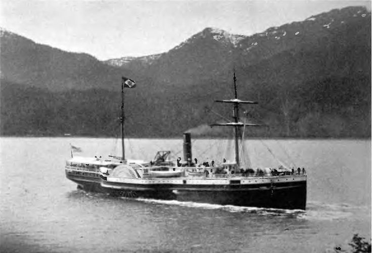 Many steamships brought miners who were unsuccessful finding gold in California, and transported them to BC, looking for a better result.