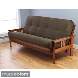 Somette Multi-flex Full-size Futon Frame and Mattress Set | Overstock.com Shopping - The Best Deals on Futons