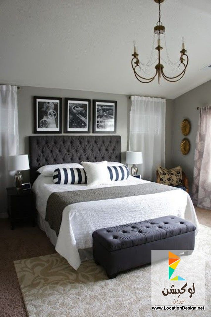 Pretty Dubs: Master Bedroom Transformation Love The Headboard And Bench