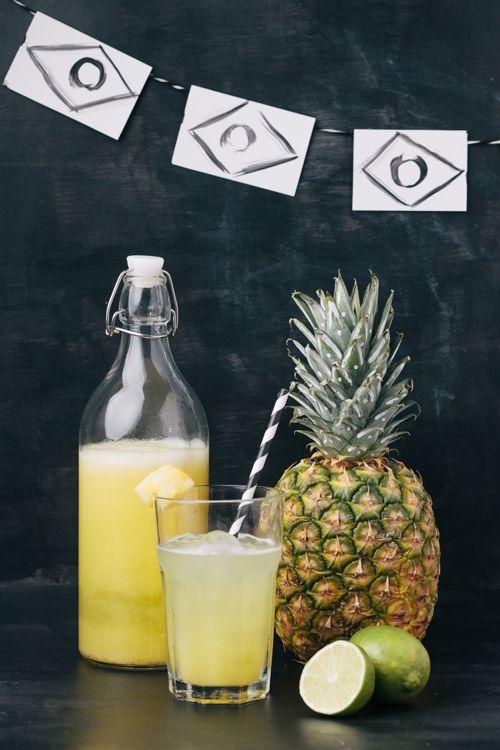 Brazilian pineapple lime juice