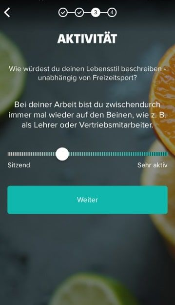 Freeletics Nutrition App Anmeldung