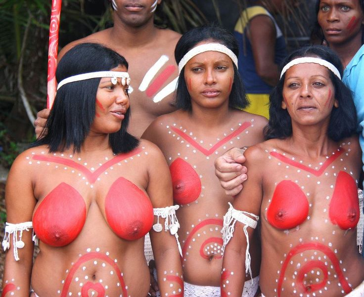 Naked south american tribes women