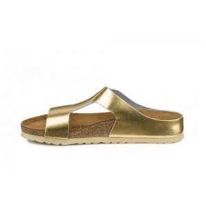 Sandale Papillio Charlize doré femme cuir lisse (metallic gold) - PA730553 | Birkenstock France