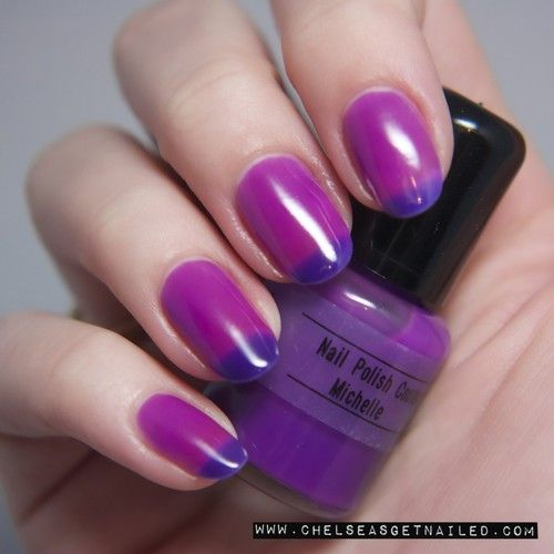Nail Polish Colors For Younger Looking Hands: Best 25+ Purple French Manicure Ideas Only On Pinterest