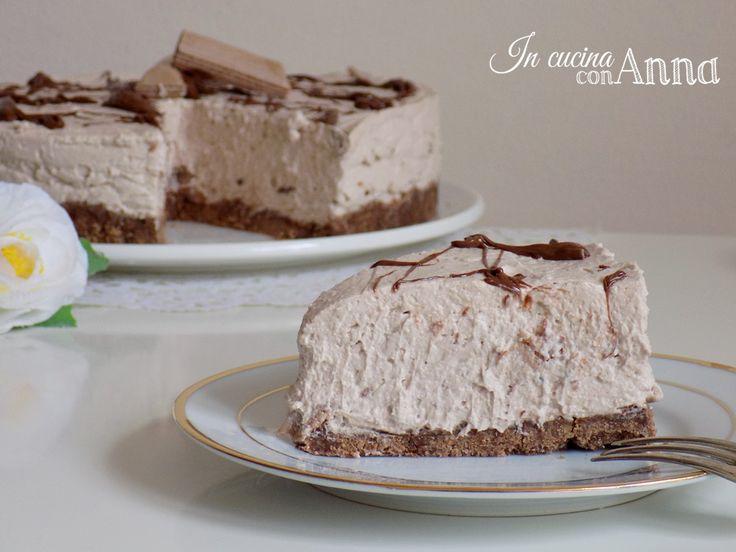 Oggi vi presento un dolce golosissimo la torta fredda tronky,conoscete le famose barrette al cioccolato? questo dolce è ispirato a loro...