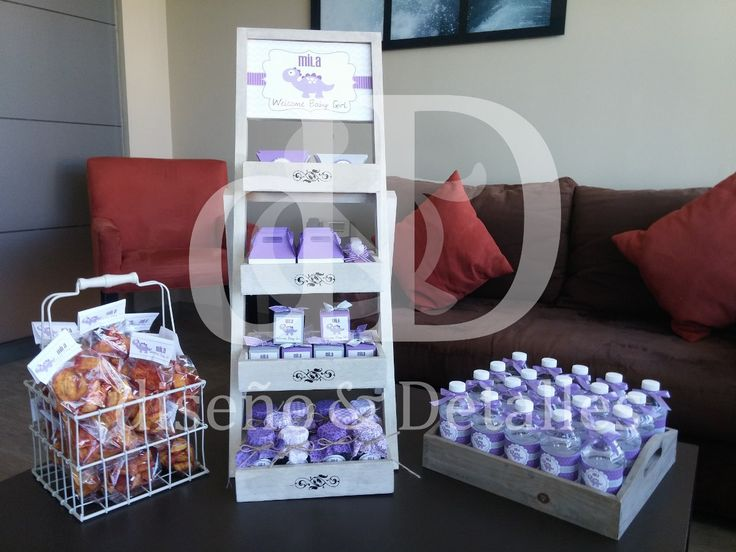 Kit De Nacimiento Escalera De Dulces Y Letrero Para Hospital - $ 3,500.00 en MercadoLibre