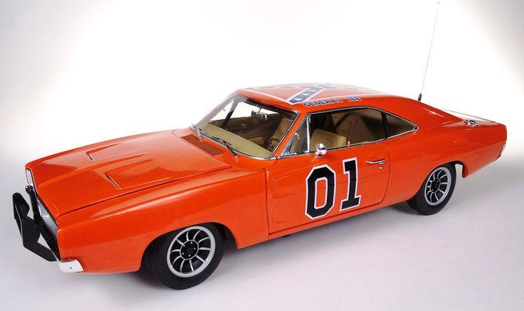 "1969 Dukes of Hazard ""General Lee"" by Autoworld AMM964"