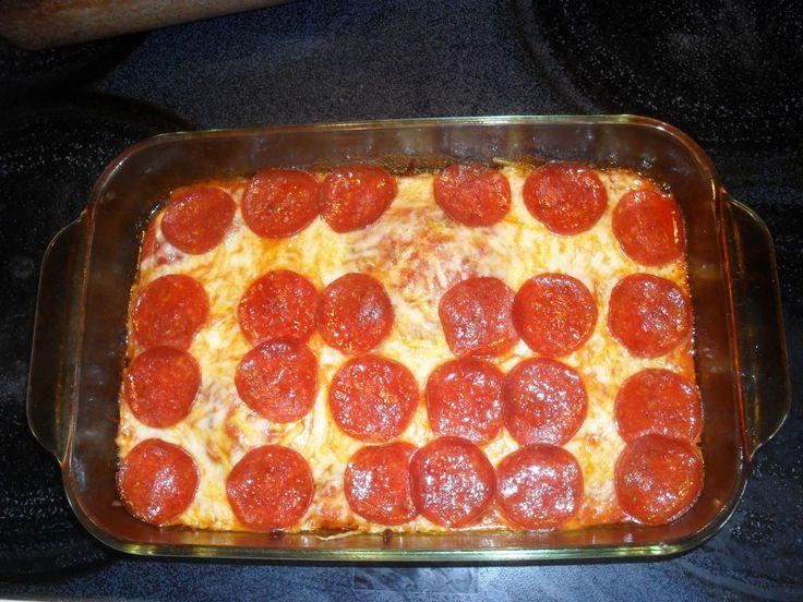 No Dough Pizza - low carb diets...