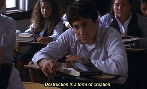 Imagem de donnie darko, quote, and destruction