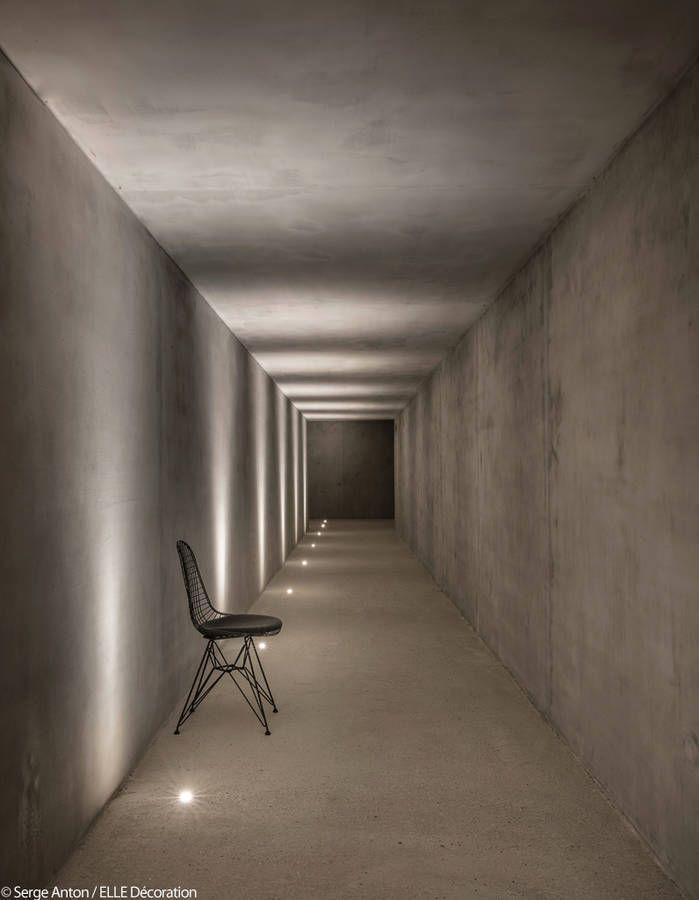 """Résultat de recherche d'images pour """"couloir en béton"""""""