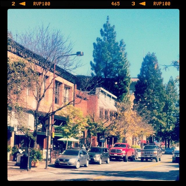Charming Downtown Santa Rosa.  (Downtown Santa Rosa, California)