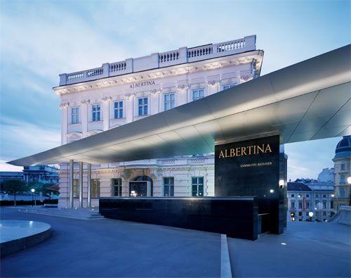 Albertina Wien/Vienna. Een van de mooiste musea in Wenen