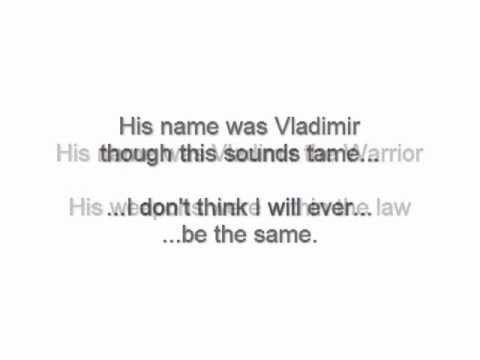 The Indelicates - Vladimir (Lyrics)