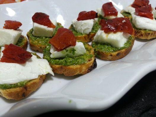 Cenar a base de canapés: 45 ideas para montar un menú de aperitivos