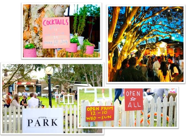 The park pop up: Centennial Park