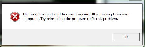 Cygwin1.dll is a dynamic link library that acts as a Linux API layer and provides substantial Linux API functionality. It is a Cygwin POSIX Emulation DLL from Red Hat belonging to Cygwin. The file is a Linux-like environment for Windows. Many applications share this module and require it to start properly. If the file contains an error, you may get the error when you attempt to start the application.