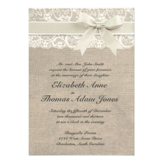 Rustic Vintage Inspired Wedding Invitation I love it, plus it has my name on it.  Awesome!