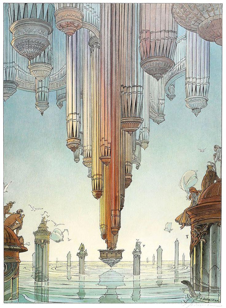 Les rêves engloutis d'Oscar Frobelius, François Schuiten