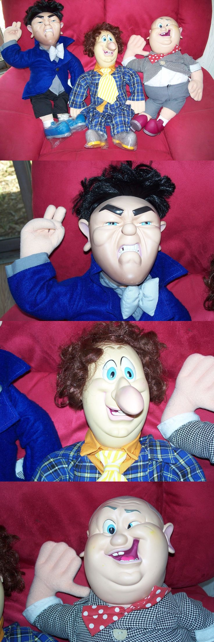 Three Stooges 20921: Larry Curly And Moe The Three Stooges Spumco Comedy Doll 22 Inch 1996 Tag -> BUY IT NOW ONLY: $159.99 on eBay!